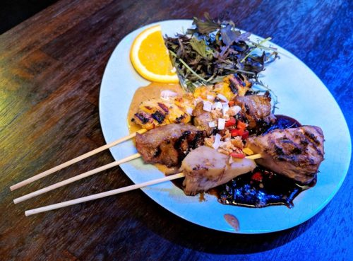 Blue Pepper Indonesian restaurant - satay