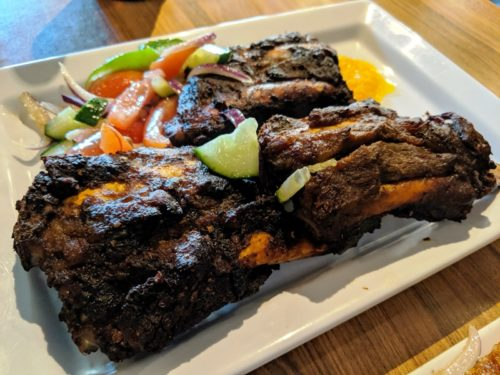 African Kitchen Amsterdam - ribs
