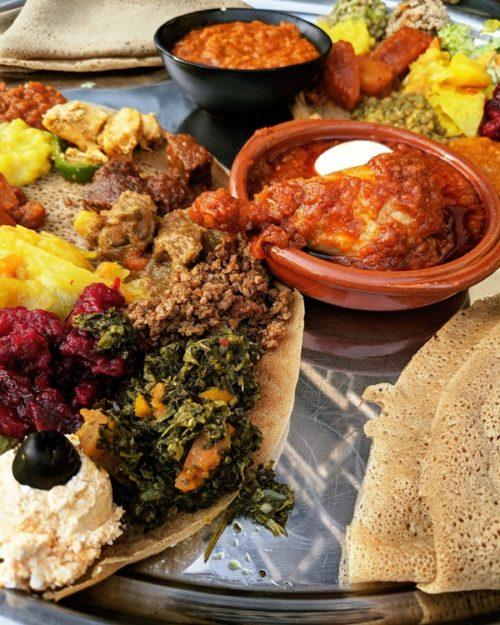 Eetcafe Ibis - Ethiopian food in Amsterdam