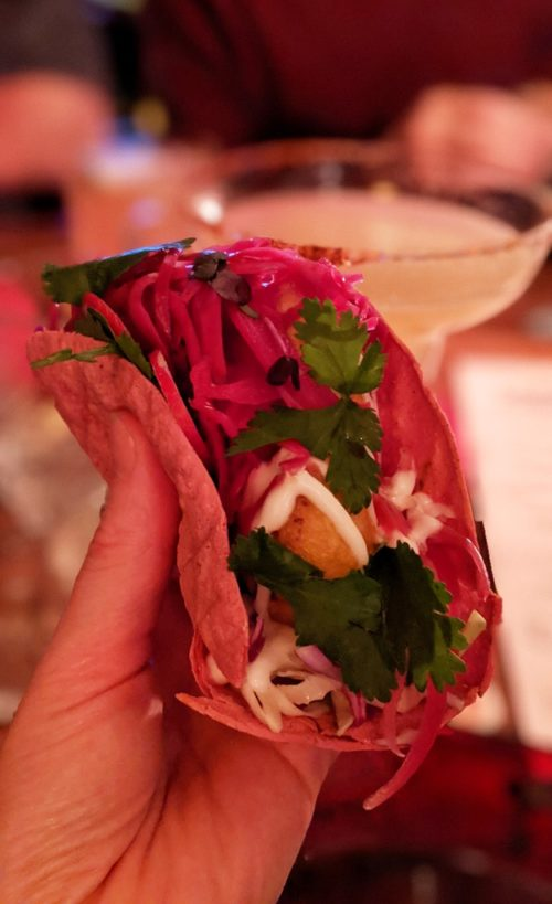 Mexican restaurant in Amsterdam - Cabron - tacos