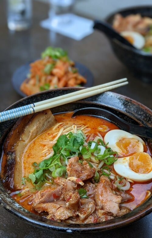 Spicy miso ramen at Ai Ramen Klara